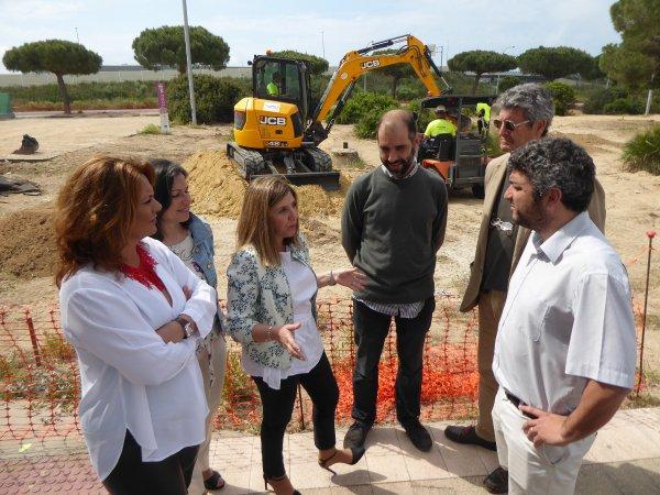 Obras del Plan Invierte en Puerto Real
