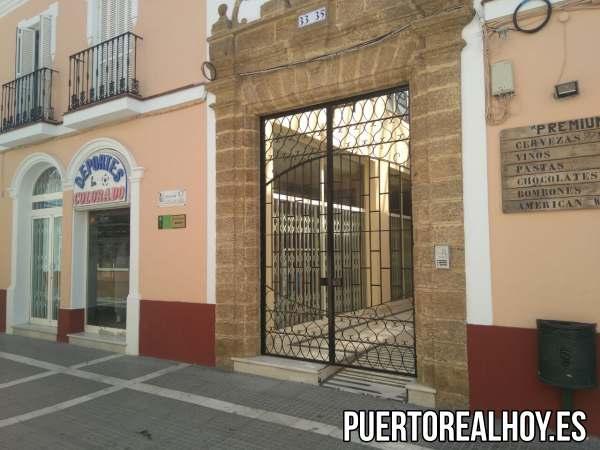 Puerta del Convento Franciscano en Puerto Real