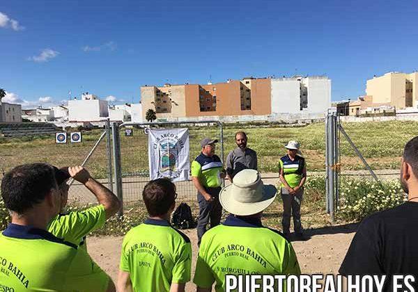 El nuevo campo de tiro del Club Arco Bahía.