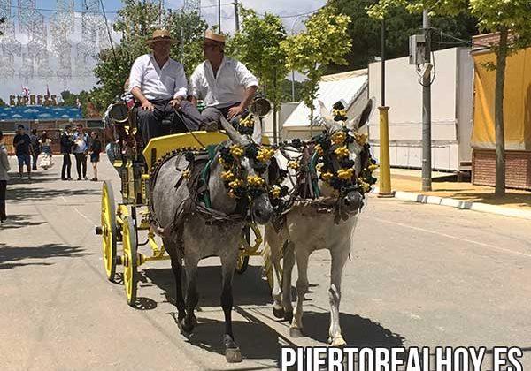 Carruaje de caballos de la Peña 5x5.
