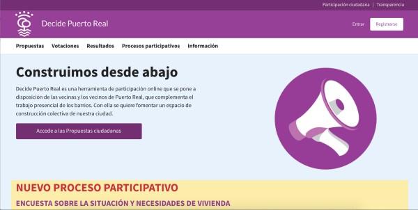 Plataforma Decide Puerto Real