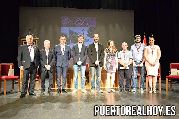 Galardonados por el Día de La Villa 2018.