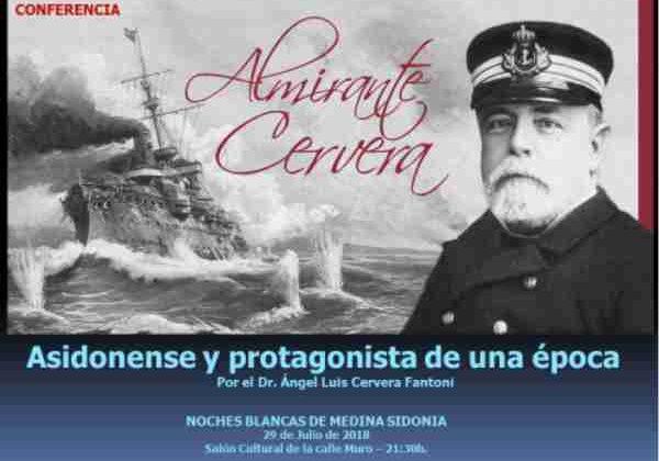 Charla sobre el Almirante Cervera.