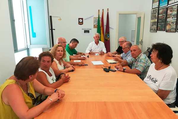 Junta Directiva de la Confederación de Asociaciones de Vecinos de la Provincia de Cádiz.