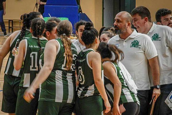 AD Las Canteras durante un partido.