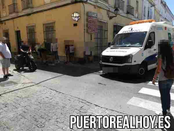 Accidente entre Calle Real y Soledad.