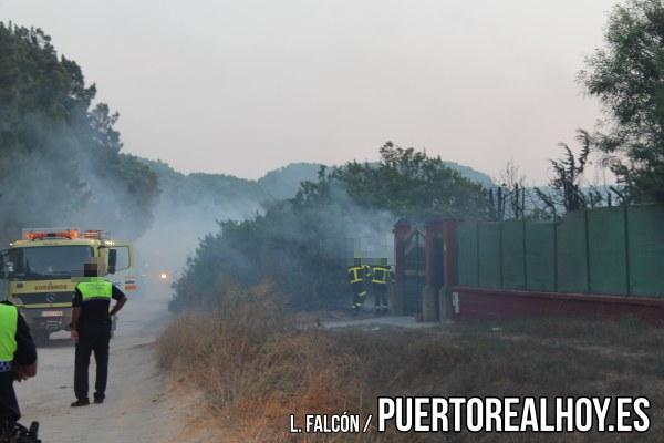 Incendio en la Dehesa de las Yeguas.
