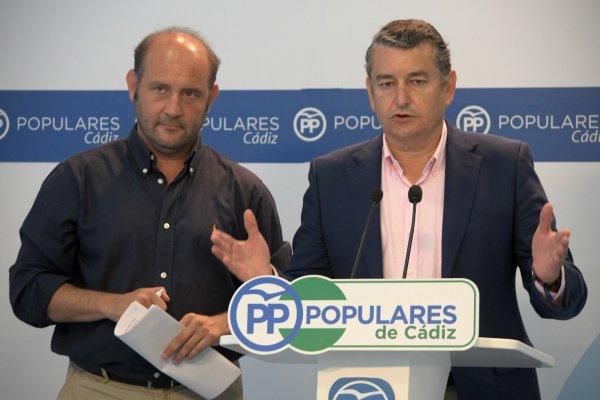 Antonio Sanz, Presidente del PP Cádiz.