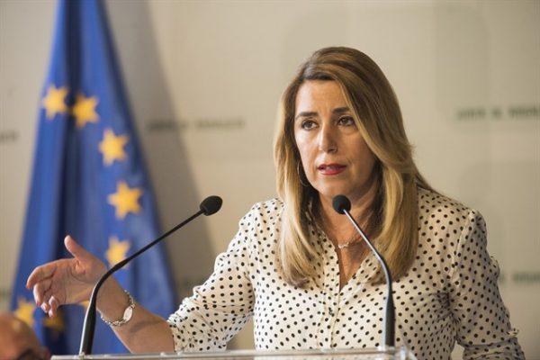Susana Díaz, Presidenta de la Junta de Andalucía.