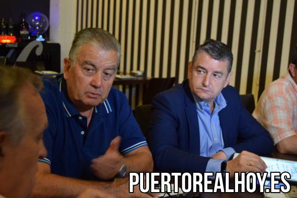 Carlos Juárez (Presidente del PP Puerto Real) junto a Antonio Sanz (Presidente del PP Cádiz).