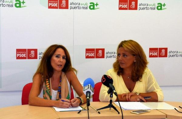 Gema Pérez junto a Elena Amaya.