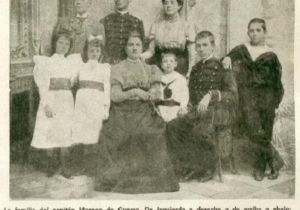 Familia de Juan Moreno Guerra y Alonso.