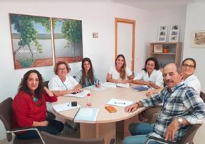 Miembros del Hospital de Puerto Real y de la Cruz Roja.
