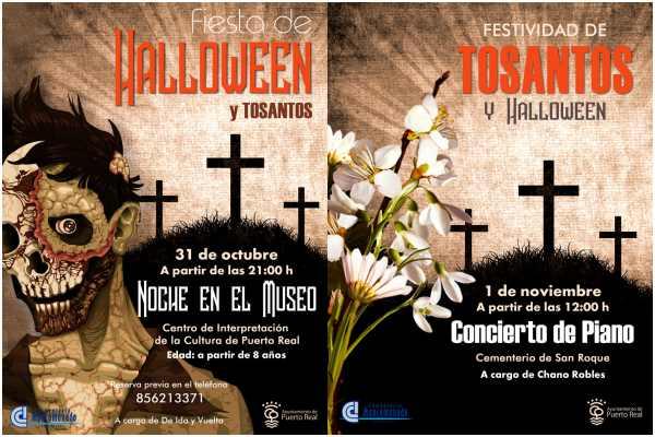Actividades de Halloween y Todos los Santos en Puerto Real.