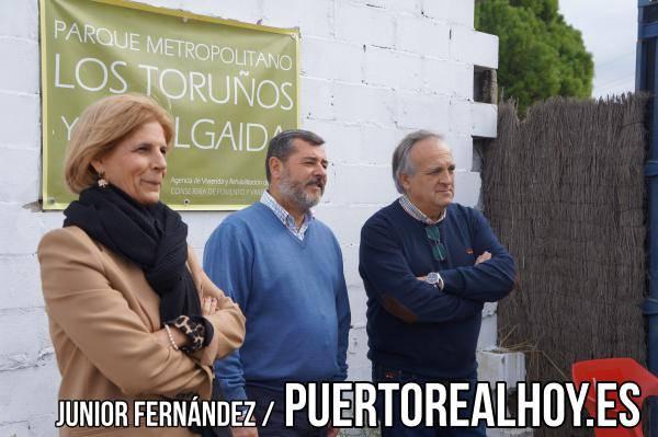 Maria José García Pelayo, Alfonso Candón y Vicente Fernández, del Partido Popular.