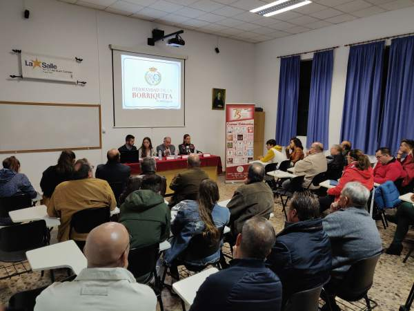 Presentación de los actos del 75 Aniversario de la Hermandad de La Borriquita.