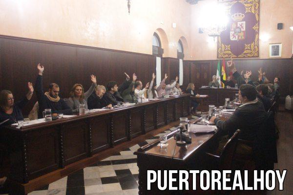 Pleno del Ayuntamiento del Mes de Noviembre de 2018.