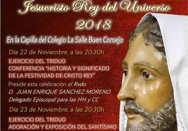 Cultos de la Hermandad de La Borriquita.