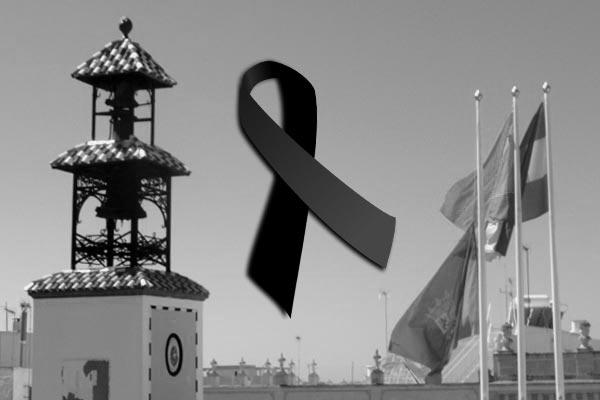 Luto en el Ayuntamiento de Puerto Real.