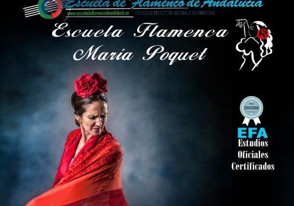 Escuela Flamenca de María Poquet en Puerto Real.