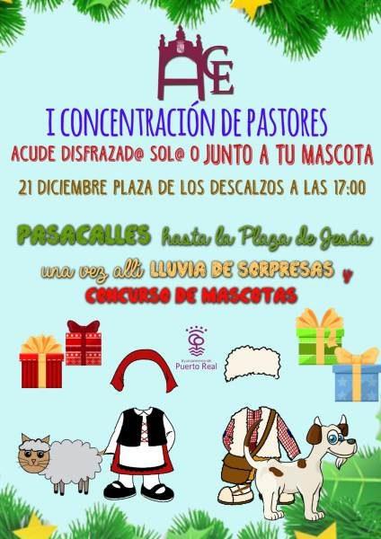 Cartel de la I Concentración de Pastores.