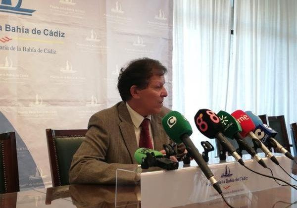 José Luis Blanco, Presidente de la Autoridad Portuaria Bahía de Cádiz.