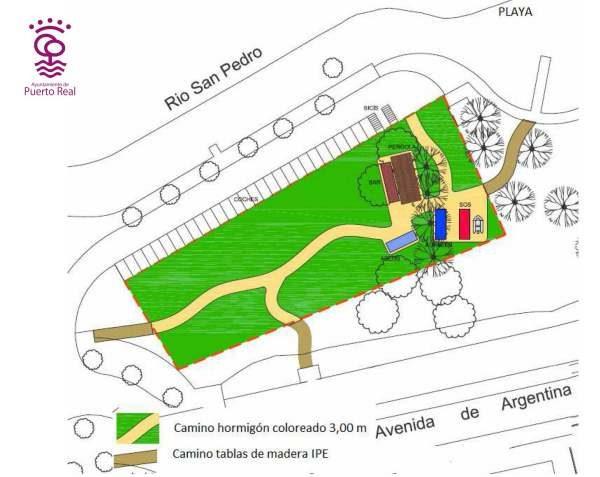 Proyecto para la urbanización de la Playa de la Ministra.