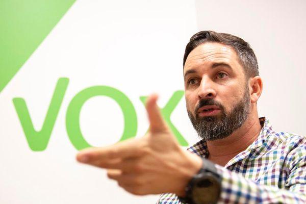 Santiago Abascal, lider de Vox.