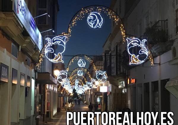 Alumbrado de Navidad en Puerto Real 2018.