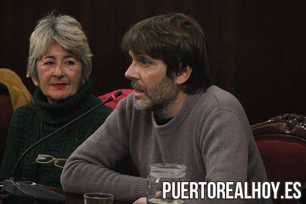 Alfredo Charques junto a María Merello.