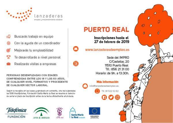 Lanzadera de Empleo en Puerto Real.
