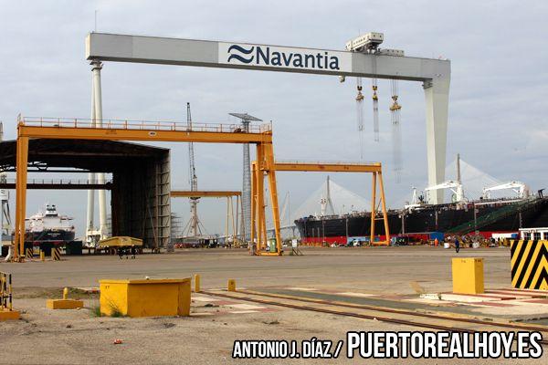Astillero de Puerto Real.