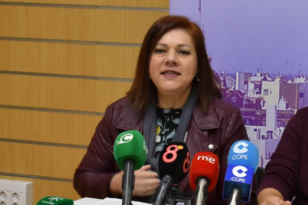 Ascensión Ruiz, Secretaria General de Podemos Puerto Real.