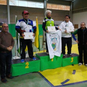Paqui Canalejo, campeona provincial de tiro con arco en sala.