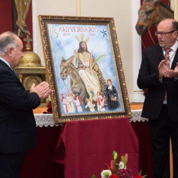 Presentación del Cartel del 75 aniversario de La Borriquita.
