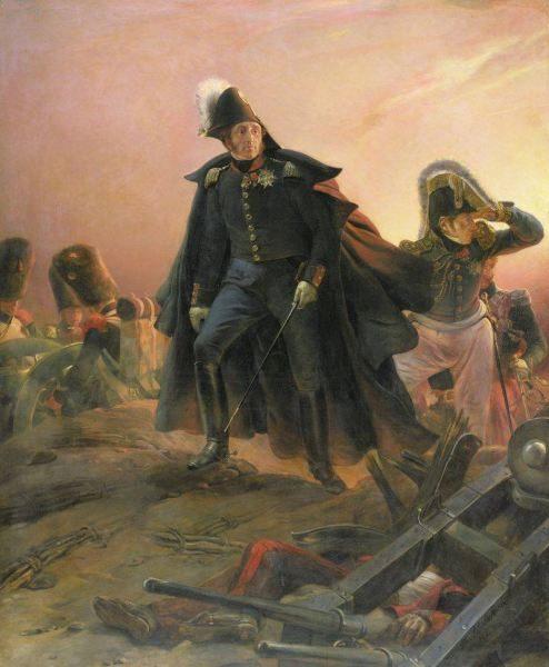 El duque de Angulema, hijo del rey de Francia y general al frente de los Cien Mil Hijos de San Luis, en la Batalla del Trocadero (1823), por Hipólito Delaroche