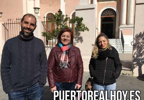 Antonio Romero, Ascen Ruiz y Fátima Pontones.