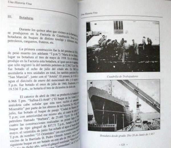 Interior del libro sobre la Barriada de Matagorda, de Manuel J. Parodi y Miguel Romero.