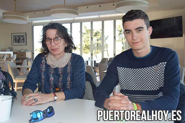 Concepción Rueda y Álvaro Vizcaíno, de VOX Puerto Real.
