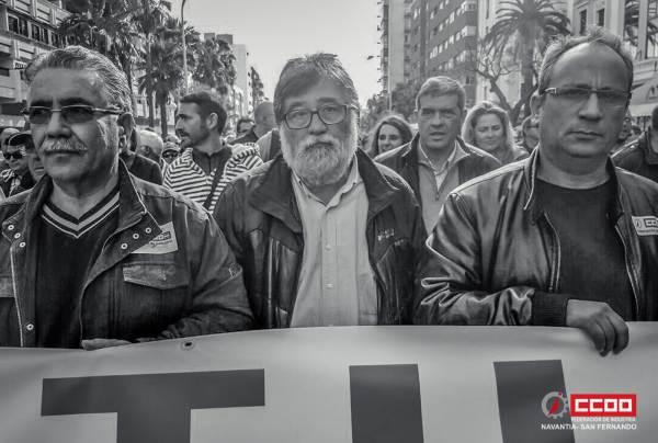 Manifestacion en Cadiz