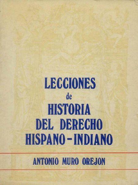 Portada de un libro de Antonio Muro Orejón.