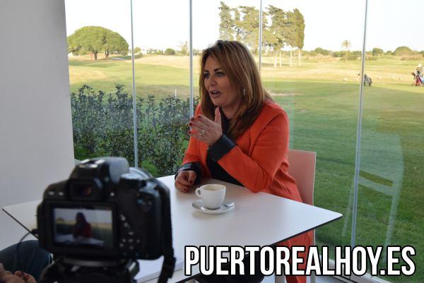 Elena Amaya, entrevistada por Puerto Real Hoy.