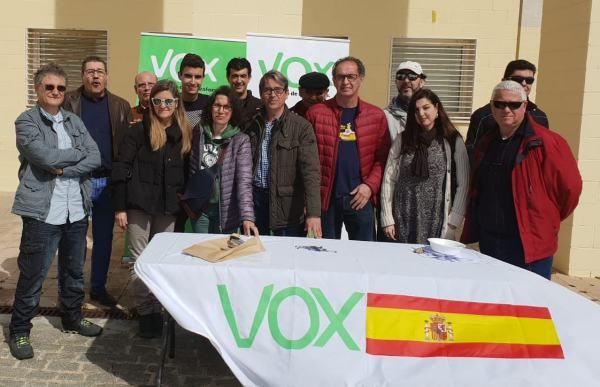 Miembros de Vox Puerto Real
