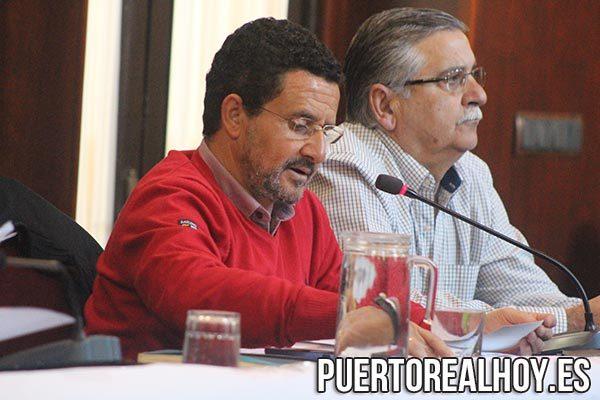 Ángel Gómez, Concejal del PA.