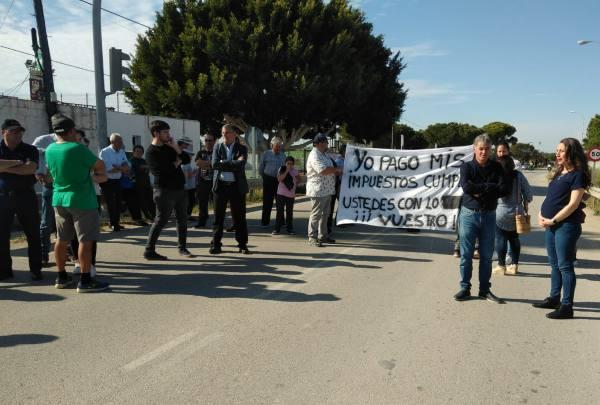 Protestas de los vecinos de El Marquesado