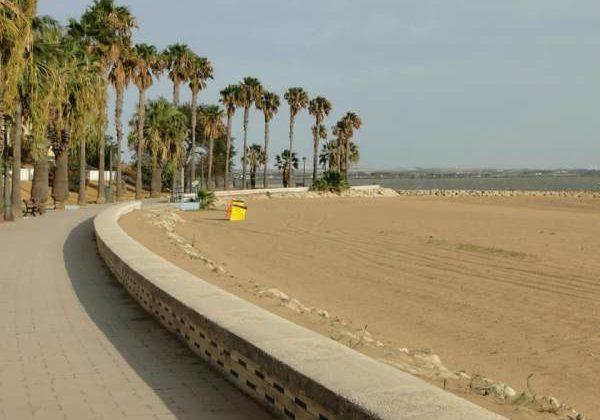 Playa de La Cachucha (Foto: Ayto. de Puerto Real).