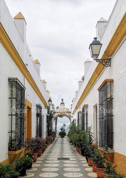 Callejón del Arco. Foto: Óscar Requejo