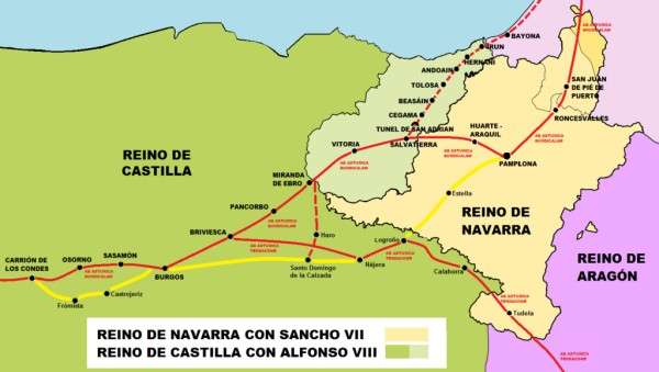 Briviesca en las rutas europeas