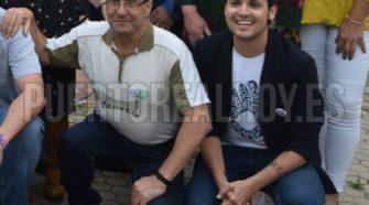 Rafael Gutiérrez, a la izquierda de Mario García.