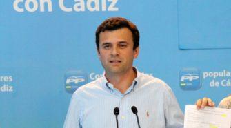 Bruno García, Secretario General del PP en Cádiz.